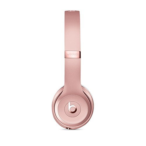 Beats Solo3 Wireless On-Ear Headphones Rose Gold-151