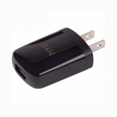 HTC 2 AMP USB Power Adapter Head Only Black-0