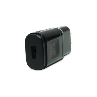 LG 1.8 Amp USB Power Adapter Black Head Only-0