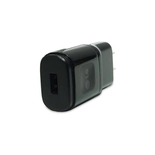LG 1.8 Amp USB Power Adapter Black Head Only-0