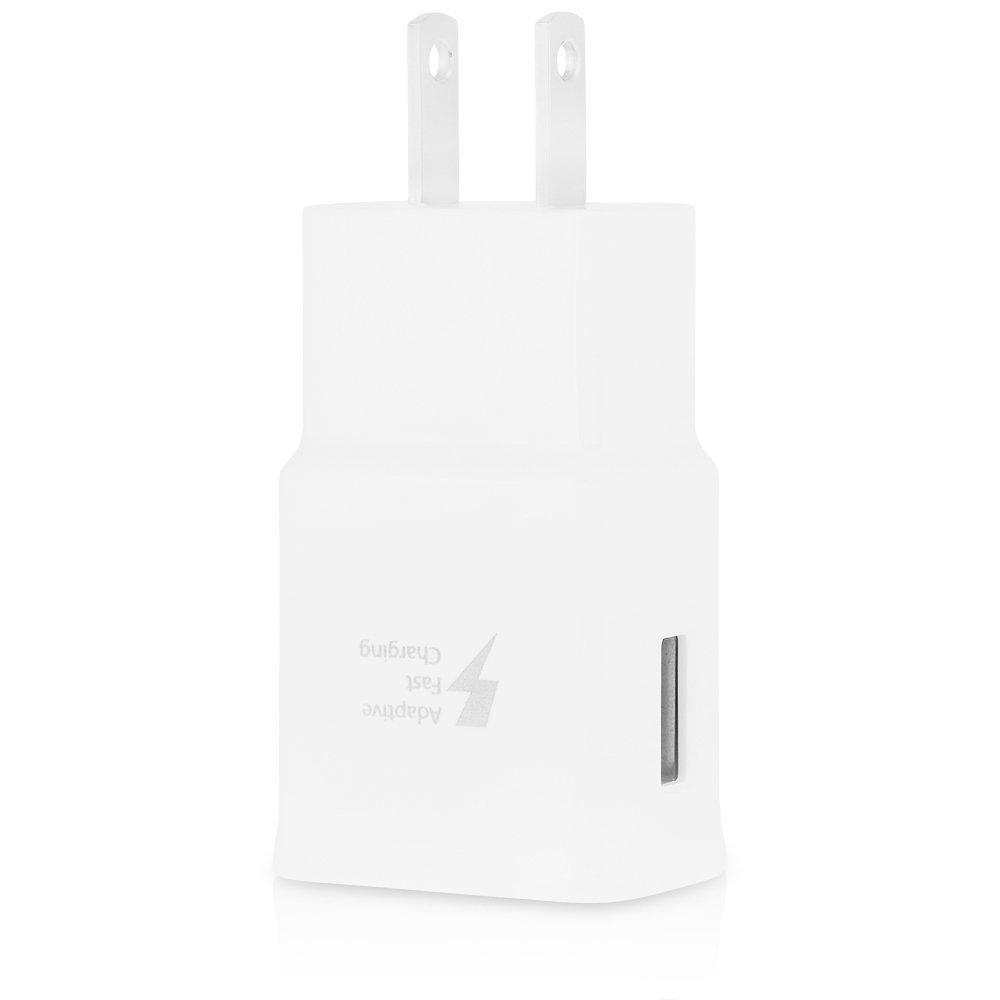 LG USB Fast Charger Head Only White-0