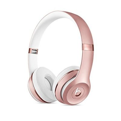 Beats Solo3 Wireless On-Ear Headphones Rose Gold-0