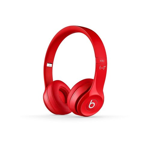 Beats Solo2 Wireless On-Ear Headphones Red-0