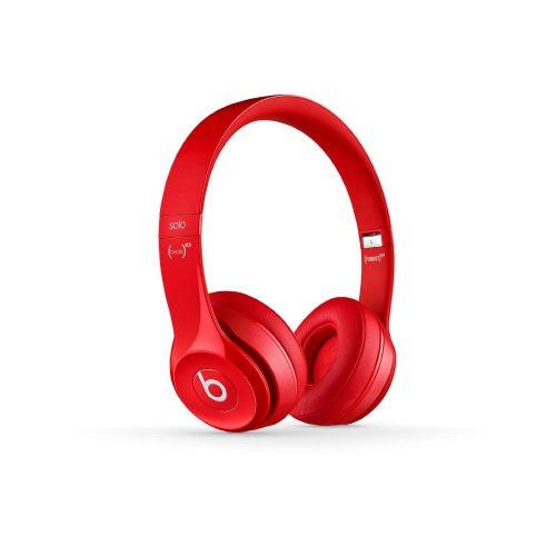 Beats Solo2 Wireless On-Ear Headphones Red-217