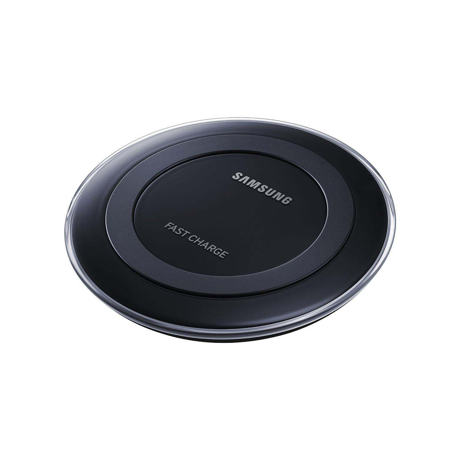 Samsung Fast Charge Qi Wireless Charging Pad for Qi Enabled Devices - Black-0