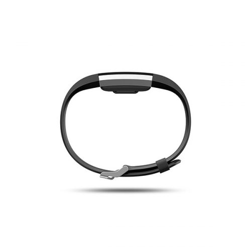 Fitbit Charge 2 HR Wireless Activity Wristband Black Large-137