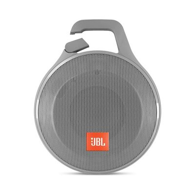 JBL Clip+ Splashproof Portable Bluetooth Speaker Gray-0