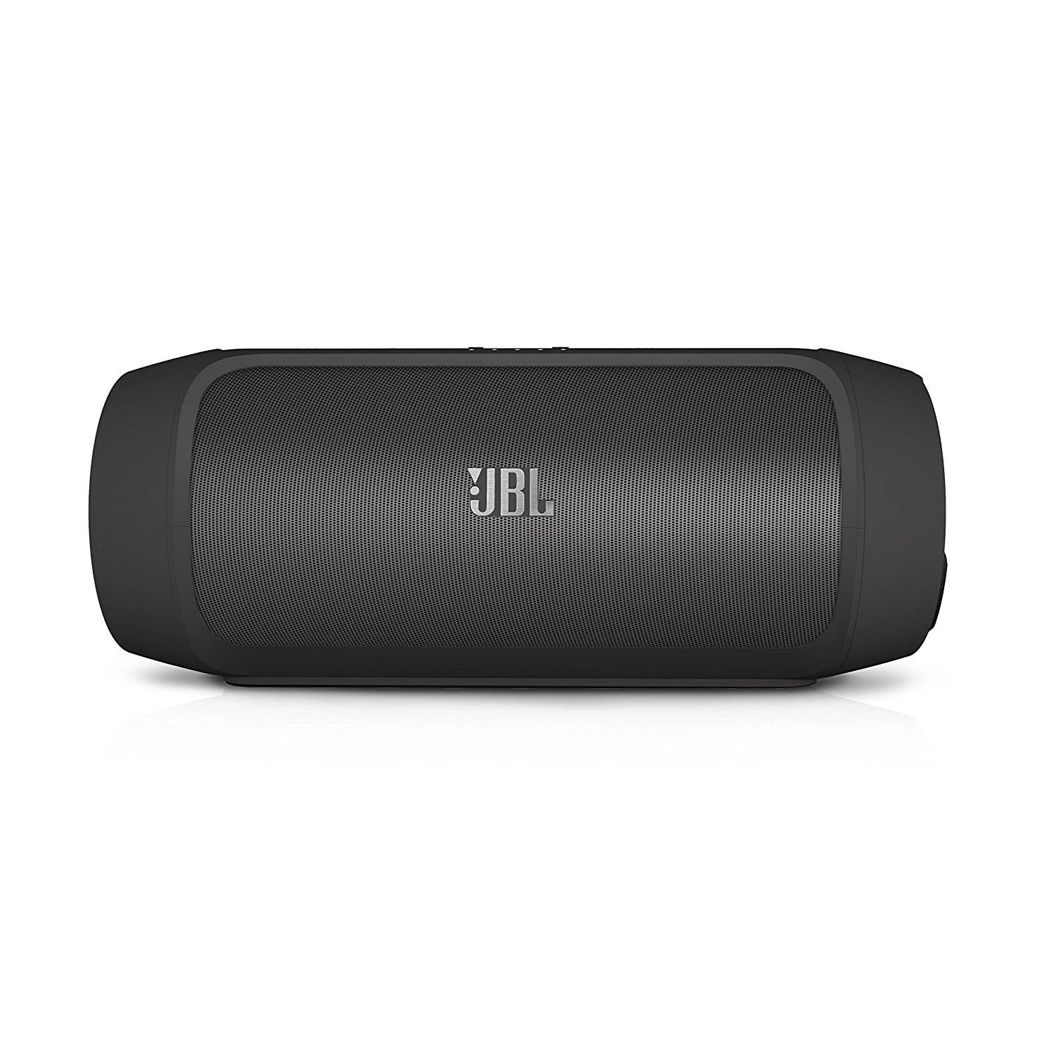 JBL Charge 2+ Splashproof Portable Bluetooth Speaker Black-0