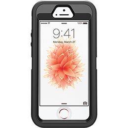 Otterbox iPhone 5/5s/SE Defender Case Black-0