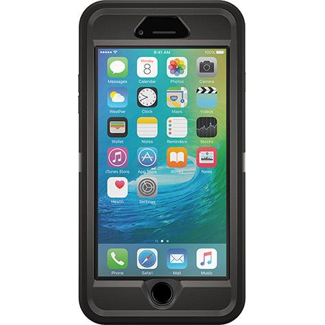 Otterbox iPhone 6/6s Plus Defender Case Black-0