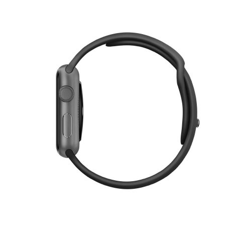 Apple Watch Sport 42mm Space Gray Aluminum Case with Black Band-300
