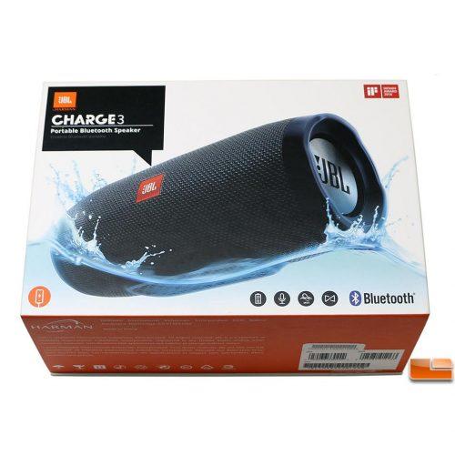 JBL Charge 3 Waterproof Bluetooth Speaker-0