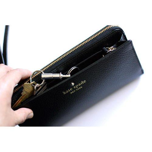 Kate Spade Zip Wristlet Black-724