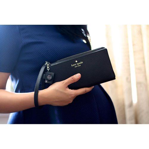 Kate Spade Zip Wristlet Black-526