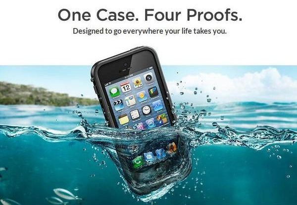 LifeProof FRE iPhone 5s Waterproof Case-528