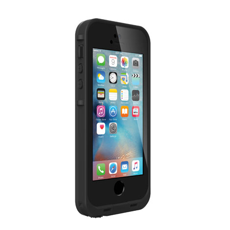 Lifeproof FRE For iPhone 5/5s/SE Case Black-0