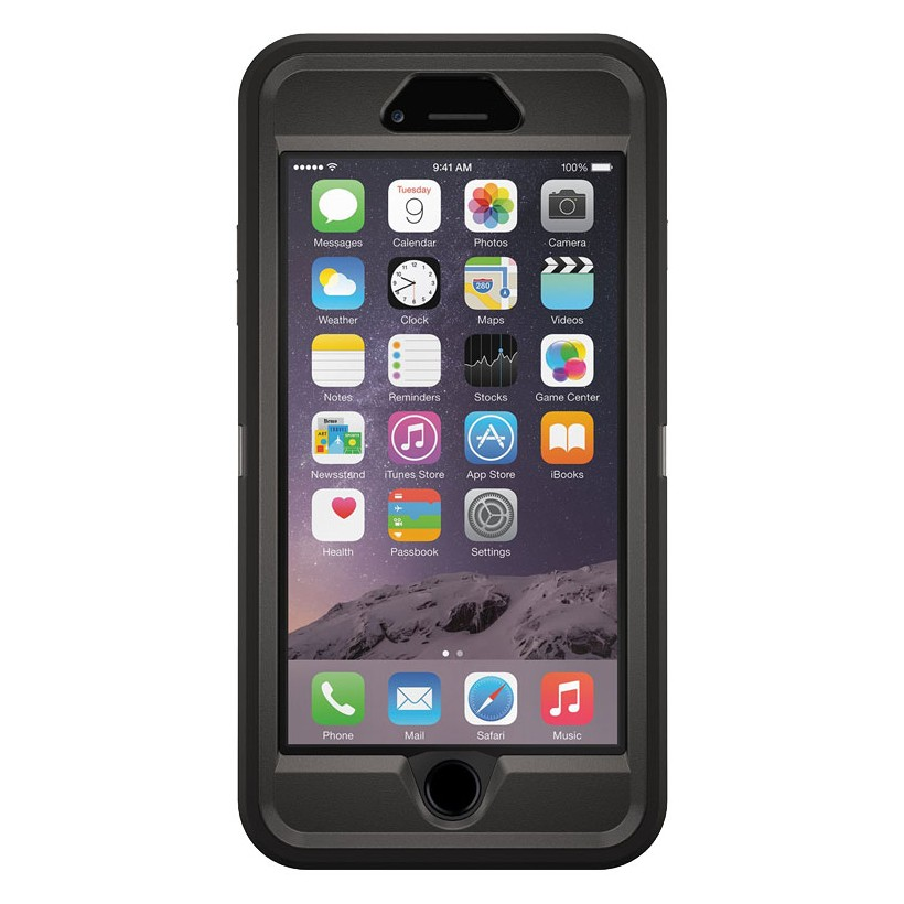Otterbox iPhone 6 Plus Defender Case Black-0