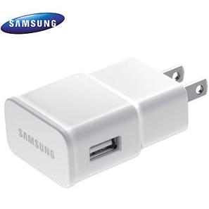 Samsung 1A USB Power Adapter Head Only White-0