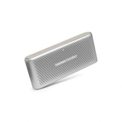 Harman Kardon Bluetooth Wireless Portable Speaker Traveler (R) Silver