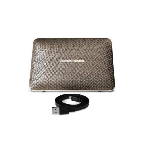 Harman Kardon ESQUIRE 2 - Portable Bluetooth Speaker w Mic Gold (Refurb)