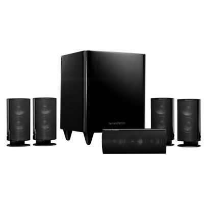 Harman Kardon HKTS 60BQ 5.1 Channel Home Theater System Black 150W (Refurb)