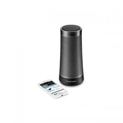 Harman Kardon INVOKE Voice Activated Wireless Speaker w Cortana Gray (Refurb)