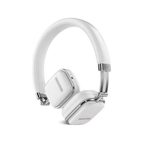 Harman Kardon Soho Wireless On-Ear Headphones with Bluetooth (White)