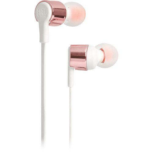 Jbl T210 In Ear Headphones Rose Gold Iphone Samsung Wholesale