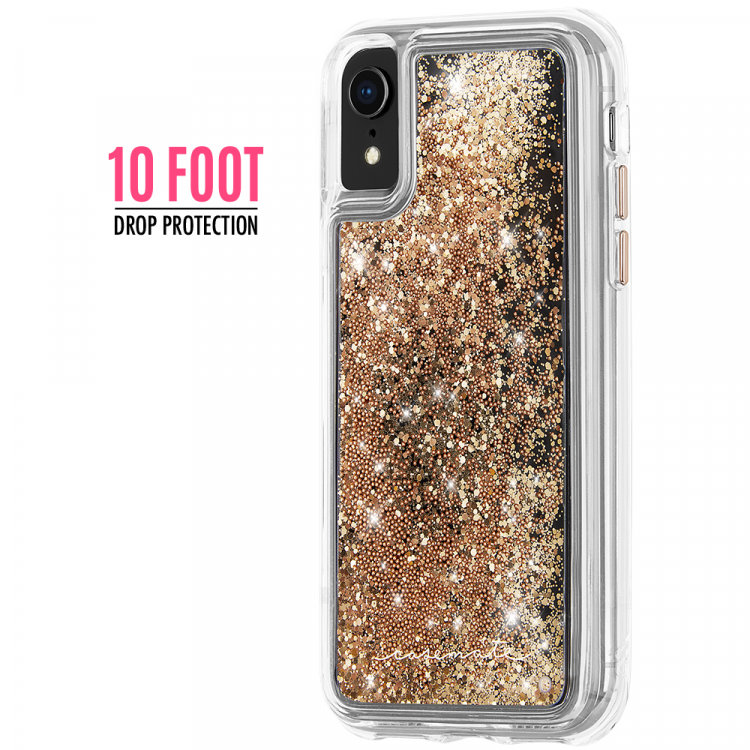 Case-Mate Waterfall Gold iPhone XR Case