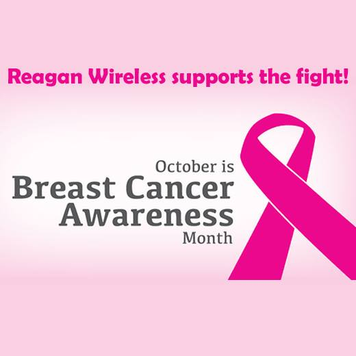 Reagan Wireless supports the fight! Breast Cancer Awareness